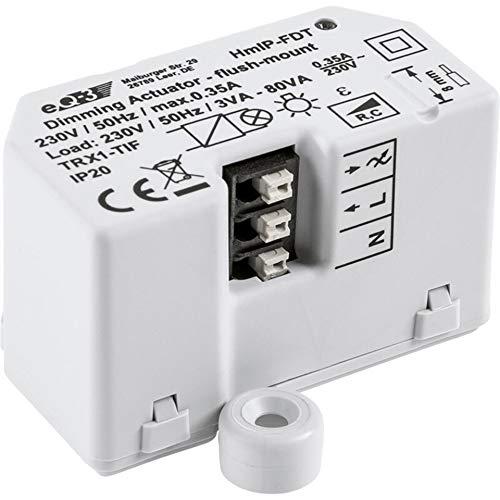 Homematic IP ELV ARR-Bausatz Dimmaktor Unterputz HmIP-FDT, für Smart Home und Hausautomation