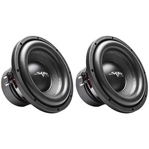 Skar Audio SVR-10 D4 10 1600 Watt Max Power Dual 4 Ohm Car Subwoofer