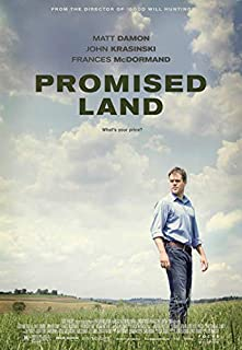 Promised Land Movie Matt Damon Poster Prints Wall Art Decor Unframed,32x22 16x12 Inches,Multiple Patterns Available