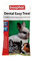 Beaphar Small Animal Dental Easy Treat 60g X 6 Packs Makes a loverly gift idea A delicious , healthy treat that also helps to keep teeth in shape by a process Good quality item of natural wearing .