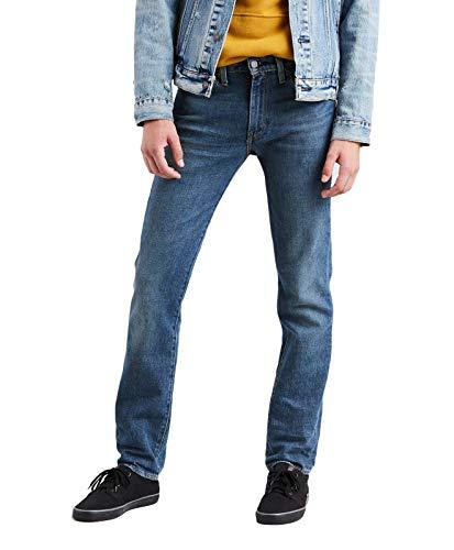 Levi's 501 - Jean da uomo con gamba dritta - Blu - 40W x 34L