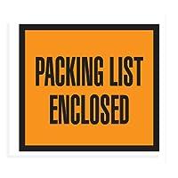 "41/ 2"" x 51/ 2""オレンジ"" Packing List Enclosed "" Full Face ( pq10)カテゴリ: Packing List封筒"