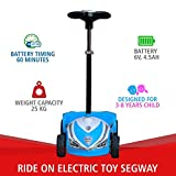 RAF Ride on Electric Toy Segway / Scooter / Car (Blue,3-8 Years)