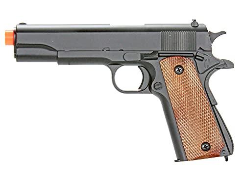 bbtac m21 airsoft 260 fps metal spring pistol with working hammer and saftey grip(Airsoft Gun)