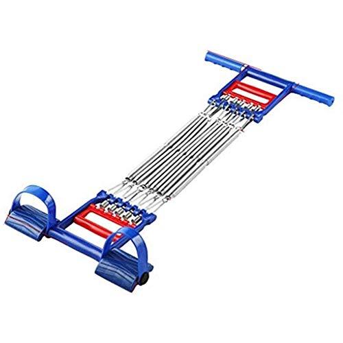 A/N Pedal De Pecho Tensores Musculacion- Puller Ajustable 5 Tubos Banda De Resistencia Ejercicio Fitness Fitness Cable De Resistencia Tubo De Cuerda
