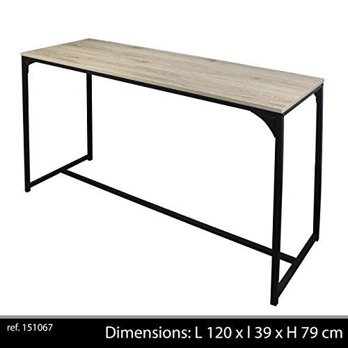 Bureau, Collection Loft, Bois, 120x39x79 cm