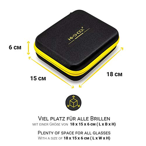 2X Hi-SHOCK® RF / BT Pro Deep Heaven & Dualcase | Aktive 3D Brille für 3D TVs von Samsung, Hisense, Telefunken | komp zu SSG-3570 CR / AN3DG35 / TY-ER3D5ME / FPT-AG03G [120 Hz | wiederaufladbar]