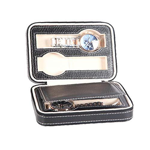 Adore store 1pc del Reloj de Almacenamiento Caja de Reloj Organizador exhibición del Reloj del Bolso Caja de Almacenamiento Caja de Reloj de Pulsera (b)