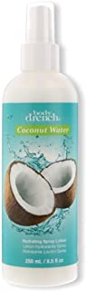 Body Drench Coconut Water Hydrating Spray Lotion for All Skin Types, 8.5 fl oz
