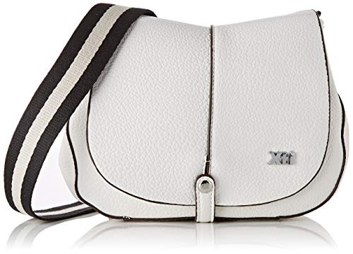 XTI 86266.0, Bolso bandolera para Mujer, Blanco (Blanco),