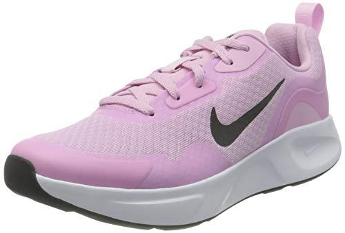 Nike Wmns WEARALLDAY, Zapatillas para Correr Mujer, Lt Arctic Pink Black, 35.5 EU