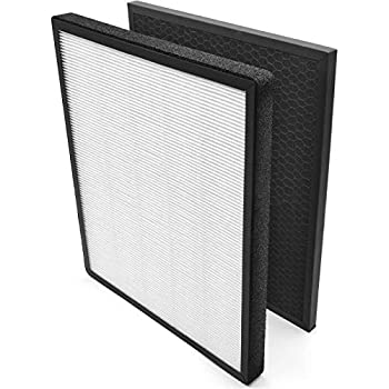 LEVOIT Air Purifier LV-PUR131 Replacement Filter True HEPA & Activated Carbon Filters Set LV-PUR131-RF