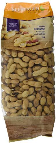 Seeberger Erdnüsse Jumbo Riesen, 1er Pack (1x 1 kg Packung)