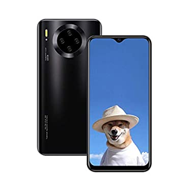 (6.53inch IPS Full-Screen), Mate30pro (2020) Android Smartphone, Unlocked Cell Phones,1GB RAM 16GB ROM, 3800 mAh, 3GWCDMA: 850/2100MHZ/SIM Card Frequency Bands, Please Confirm Your SIM Meets (Black)