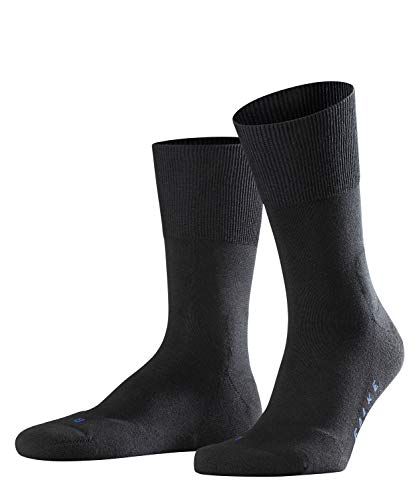 FALKE Unisex Socken, Run U SO- 16605, Schwarz (Black 3000), 42-43
