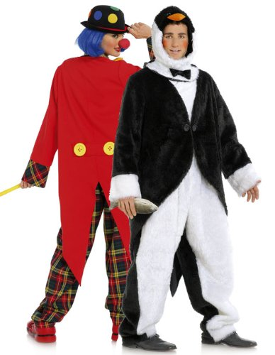 Burda 2415 Schnittmuster Kostüm Fasching Karneval Clown & Pinguin (Damen, Gr. 36-50) – Level 3 mittel