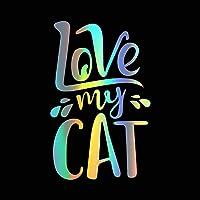 BBYT 漫画かわいい猫車のステッカーシリーズ動物ステッカービニール車のスタイリング自動ボディウィンドウ車のステッカーとデカールの装飾 (Color Name : Style 16)