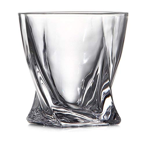 3°Amy Biergläser Kristall Whisky-Glas Cup for Wein Wodka Beer Bar Bleifreies Kristall Scotch Brille #a (Color : A)