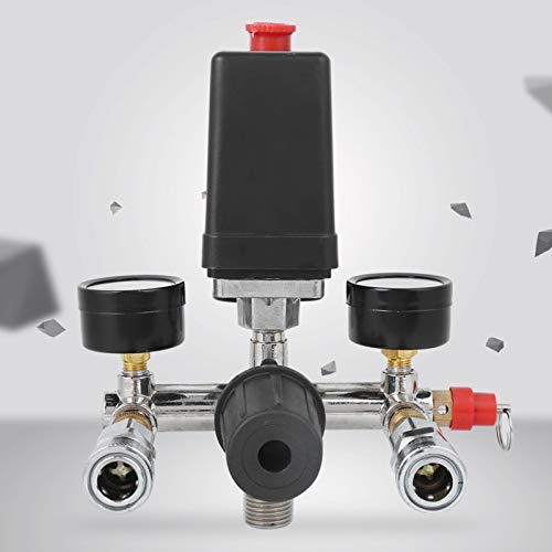 Halterung Montage Kompressor Druckschalter Luftkompressor Teile Krümmer Regler Druckminderer Ventil Druckluft Kompressor Ersatzteile Für Pneumatikrohr Zur Druckkontrolle