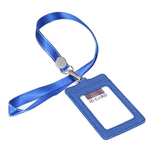 Wusuowei CDC - Protector de tarjeta de vacunación de cuero portátil para tarjeta de identificación de negocios, cartera de crédito, titular de la insignia