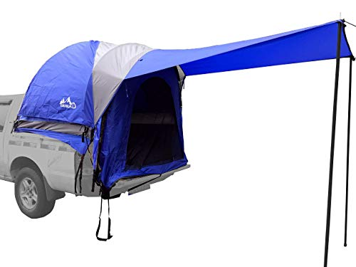 Hasika Waterproof Double Layer Full Size Truck Short/Regular Bed 5.5-6.7 Foot Tent