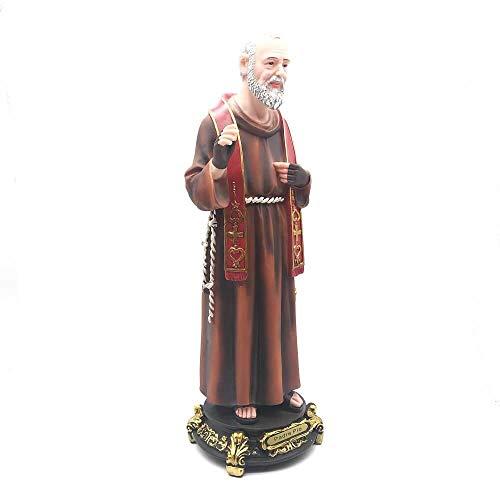 Imagem de Padre Pio Grande Resina 40 cm