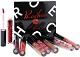 Rechoo Rossetto Matte Ink, 8 Pcs Rossetti Mate Lunga Durata Tinta Superstay Liquid Lipstick Set (Matte Ink)
