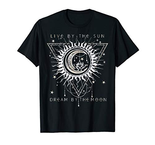 Live By The Sun Dream By The Moon Boho Premium T-Shirt