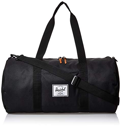 Herschel Sutton Duffel Bag, Black, Mid-Volume 28.0L