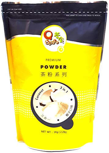 Qbubble Tea Powder Coconut Powder, 2.2 Pound