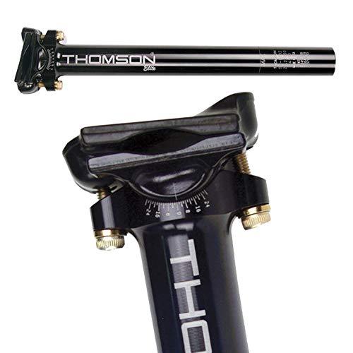 Thomson Unisex– Erwachsene Patentsattelstütze-2682000350 Patentsattelstütze, schwarz, 330mm