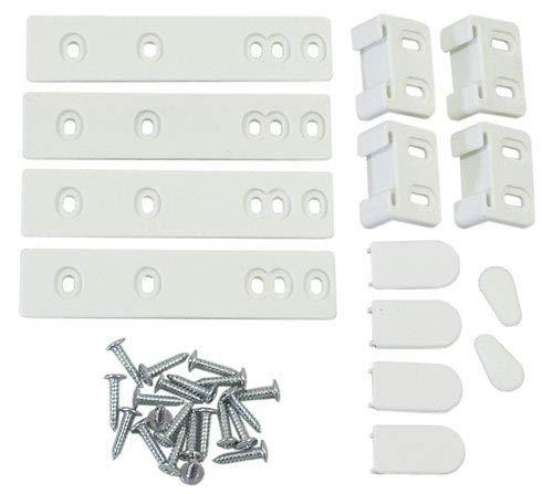avis marque refrigerateur professionnel Ensemble de glissières pour éléments intégrés de réfrigérateurs de différentes marques