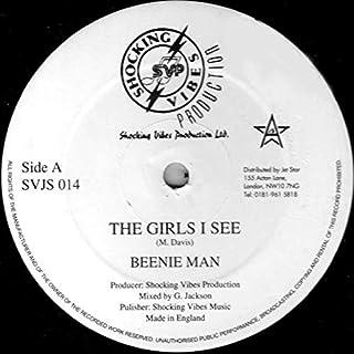 Beenie Man - The Girls I See / Version - Shocking Vibes - SVJS014