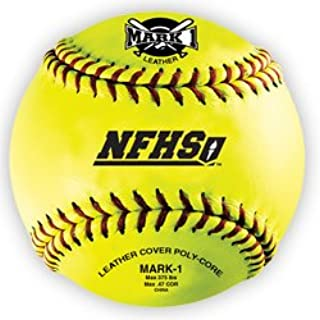 Mark 1 NFHS 12 Softball (Dozen)