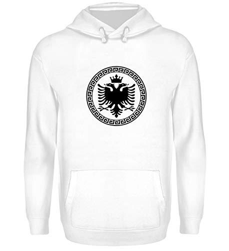 Hochwertiger Unisex Kapuzenpullover Hoodie - Albanische Flagge Shirt Albanischer Adler Albanien T-Shirt Kosovo Geschenk