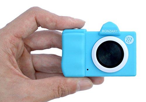 BONZARTデジタルカメラBONZARTLit+30万画素背面液晶搭載音声付動画撮影可能スカイブルーBONZ-LIT/SB