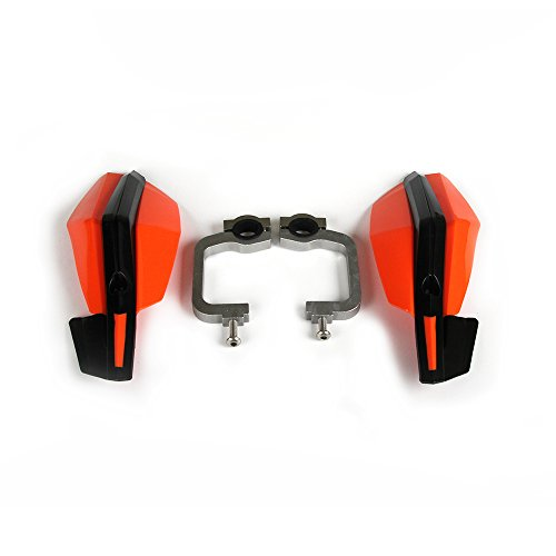 YSMOTO Prot/ège-Mains universels pour Moto K.T.M EXC EXCF SX SXF SXS MXC MX XC XCW XCF XCFW EGS LC4 Orange