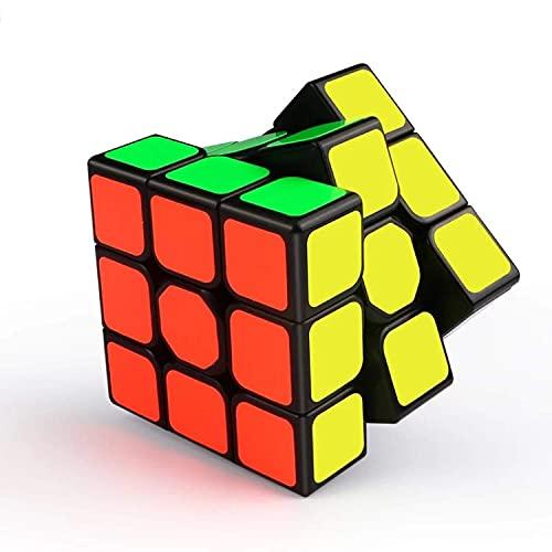 Cubo 3x3 Versione Originale Magico (Ultima Generazione) Veloce e Liscio Materiale Durevole Non tossico per Adulti e Ragazzi SpeedCube Puzzle Super Resistente Gioco di Allenamento Mentale