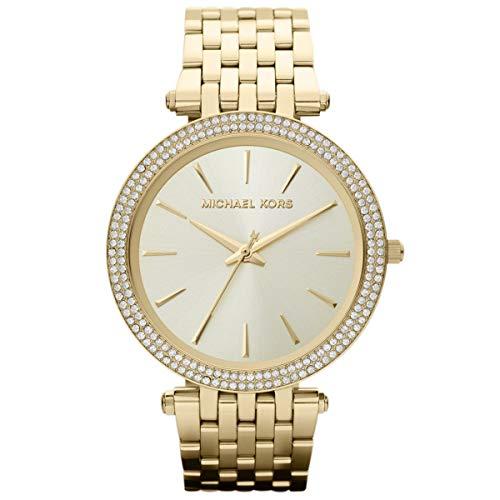 Relógio Michael Kors Darci Dourado Analógico Feminino MK3191/Z