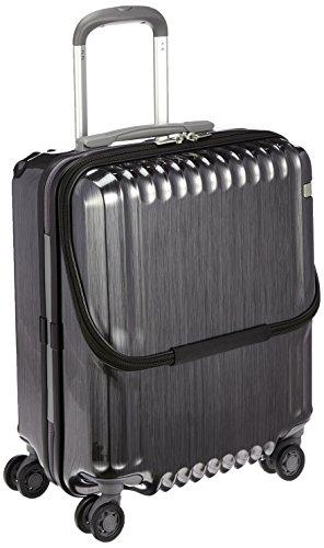 [エース] ace. スーツケース パリセイドZ 45cm 36L 3.3kg 機内持込可 双輪キャスター 05581 01 (ヘアライン...