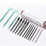 AIHOME Kit de laminación de cejas DIY ceja estilo seguro permanente ceja Set rofessional Lift para cejas más llenas de moda, uso en el hogar
