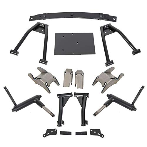 7BLACKSMITHS 6' Double A-Arm Golf Cart Lift Kit for 1982-2003 Electric&Gas Club Car DS