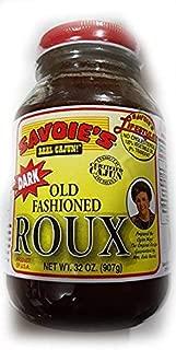 SAVOIE'S Old Fashioned Dark Roux 32oz