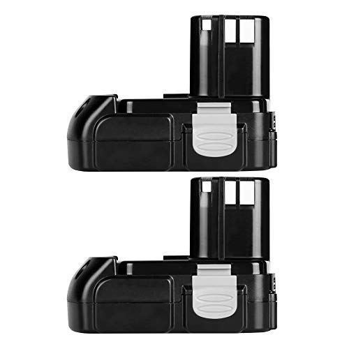 Hwazon Battery Pack for Hitachi BCL1815 BCL1820 BCL1825 BCL1830 EB 1820 18V 2.0Ah Li-ion