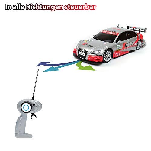 RC Auto kaufen Tourenwagen Bild 5: Audi A4 DTM RC ferngesteuertes Lizenz Fahrzeug im Original Design, Modell Ma stab 1 16, Ready to Drive, Auto inkl Fernsteuerung*