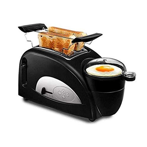 SJYDQ Panaderos,de Acero Inoxidable Tostadora eléctrica del hogar portátil Fabricante de Desayuno Máquina automática panificadora