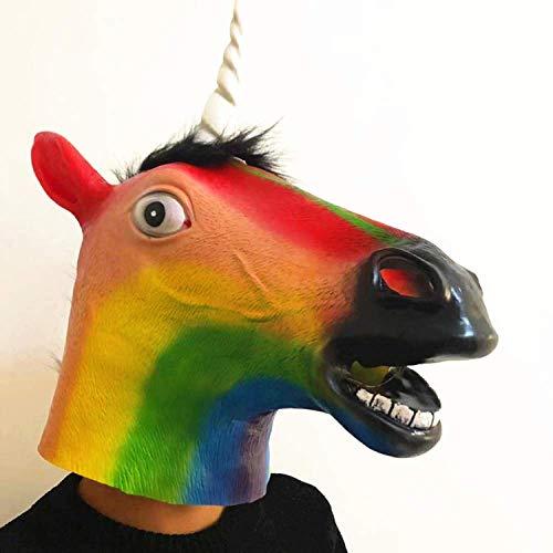 Amazon AliExpress Rainbow Unicorn Headgear Masquerade