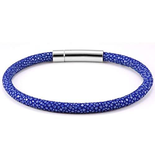 Armband sieraden Armband Armbanden Bedelarmbanden Roestvrij Staal Herenhorloge Accessoires Luxe Lederen Pijlstaartrog Echt Lederen Armband Hombre