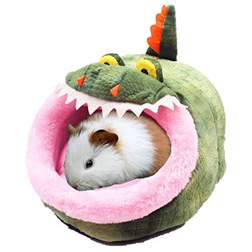 JanYoo Ferret Chinchilla Cage Toys Accessories House Bed Hideout Removable Cushion