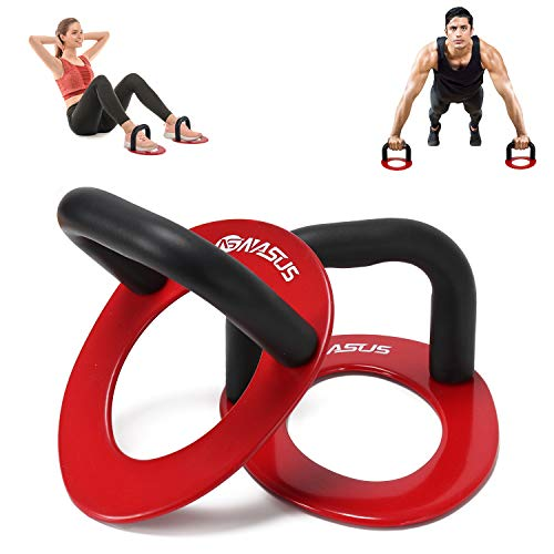 KAC Push Bars + Sit Up Bars for Strenght Training, Non Slip & Multifunctional 2-in-1 Fitness Equipment for Home Gym, Valentine's Day Gift